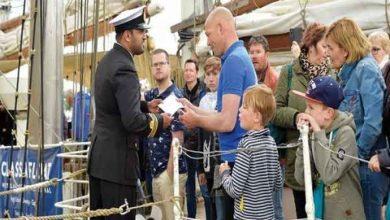 Photo of سفينة «شباب عمان الثانية» تستقبل 40 ألف زائر خلال ثلاثة أيام