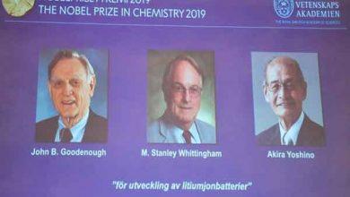 Photo of فوز رواد ابتكار بطارية الليثيوم أيون بجائزة نوبل للكيمياء