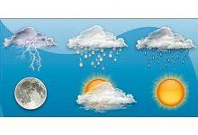 Photo of الطقس غداً غائم جزئياً مع انخفاض بالحرارة وامطار خفيفة على الجبال