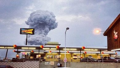 Photo of انفجاران وتصاعد دخان أسود من مصنع كيميائي في تكساس