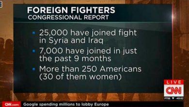 Photo of تاسك فورس: فشل اميركي ذريع  بوقف تدفق المقاتلين الأجانب إلى «داعش»