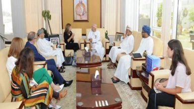 Photo of وزير الإعلام العماني يستقبل رئيسة الاتحاد الدولي لمكافحة السرطان