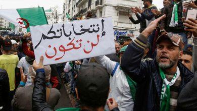 Photo of المحتجون الجزائريون يرفضون حملة الانتخابات الرئاسية ويصفونها «بالقمامة»