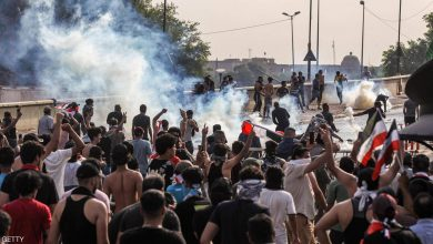 Photo of قتيلان و35 مصاباً في احتجاجات بغداد