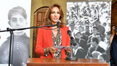 Photo of إفتتاح معرض كمال جنبلاط  في قصر بيت الدين