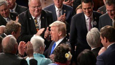 Photo of ترامب يدعو في خطابه حول حال الاتحاد الى الوحدة بعد عام مضطرب