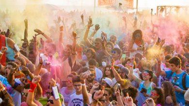 Photo of 12000 زائر حضروا مهرجان Festival of Colours في بيروت