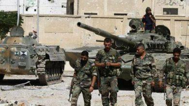 Photo of الجيش السوري يقصف بعنف جيباً تسيطر عليه المعارضة قرب حمص