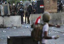 Photo of مقتل 3 محتجين برصاص قوات الأمن في الناصرية بجنوب العراق