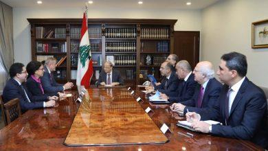 Photo of عون عرض مع كوبيتش نتائج مؤتمر مجموعة الدعم الدولية من اجل لبنان