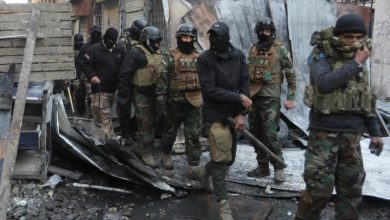 Photo of هجوم بالصواريخ على قاعدة عسكرية تضم اميركيين قرب مطار بغداد