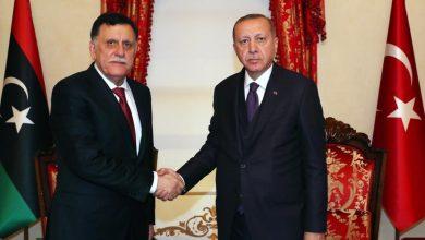 Photo of اللقاء الثاني في ثلاثة اسابيع بين اردوغان والسراج والدعم العسكري التركي لليبيا وارد
