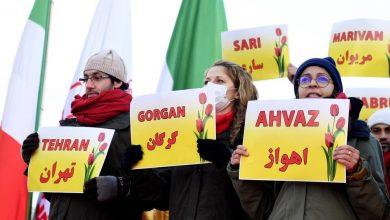 Photo of تظاهرة في فرنسا للتنديد بـ «مجزرة» بحق المحتجين في إيران