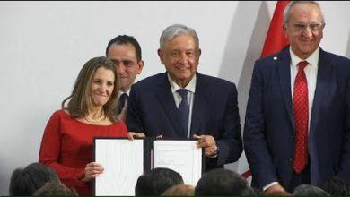 Photo of الولايات المتحدة والمكسيك وكندا توقع اتفاق التبادل الحر في اميركا الشمالية