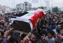 Photo of تصاعد وتيرة الاحتجاجات في العراق رغم اغتيال ناشط مدني بارز