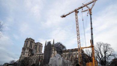 Photo of ترميم كاتدرائية نوتردام يدخل مرحلة خطرة بإزالة السقالات