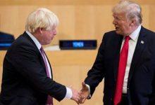 Photo of ترامب يهنئ جونسون بالفوز في الانتخابات البريطانية