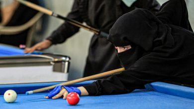 Photo of يمنيات في صنعاء يتحدين ظروف الحرب للعب البلياردو