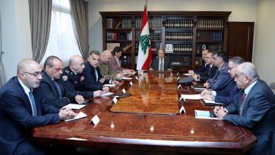 Photo of الاجتماع الامني في بعبدا: حماية المتظاهرين وملاحقة المخربين