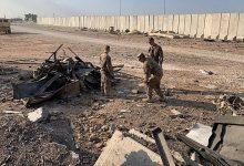 Photo of قصف قاعدة التاجي العراقية مقر تمركز جنود أميركيين شمال بغداد