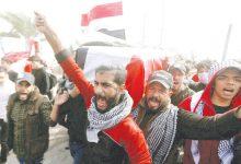 Photo of اغتيال ناشطة مع استمرار الاحتجاجات وقطع الطرقات في العراق