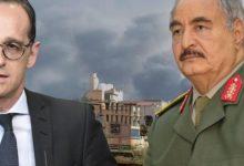Photo of وزير خارجية ألمانيا إلى ليبيا لحض حفتر على المشاركة في مفاوضات السلام