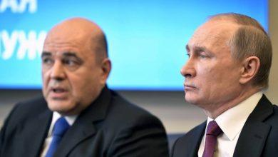 Photo of بوتين يعين ميخائيل ميشوستين رئيساً جديداً للوزراء بعيد استقالة الحكومة