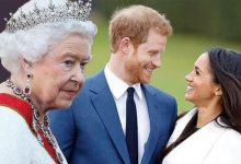 Photo of ملكة بريطانيا توافق على قرار الأمير هاري وميغان التخلي عن مهامهما الملكية
