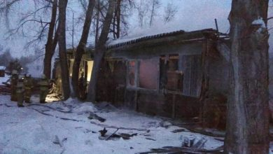 Photo of 11 قتيلاً في حريق مسكن لمهاجرين في سيبيريا