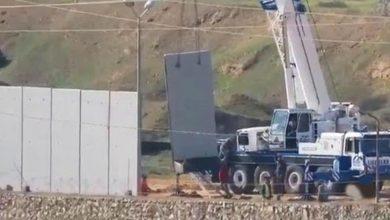 Photo of مصر تبني جداراً اسمنتياً على طول الحدود مع قطاع غزة