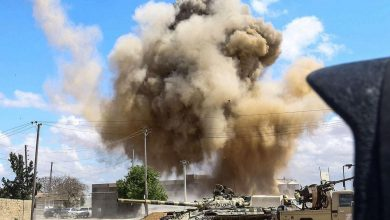 Photo of قصف مدفعي مكثف في وسط العاصمة الليبية