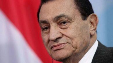 Photo of وفاة الرئيس المصري الأسبق حسني مبارك
