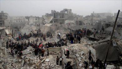 Photo of سوريون يتفقدون منازلهم قرب حلب ولا يجدون سوى الركام