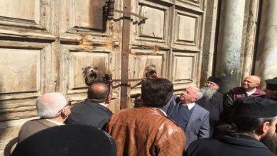 Photo of إغلاق كنيسة القيامة في القدس وتسجيل أول وفاة بكوفيد-19 في الأراضي الفلسطينية