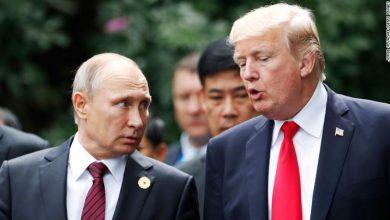 Photo of بوتين وترامب بحثا التعاون في ملفي فيروس كورونا المستجدّ والنفط