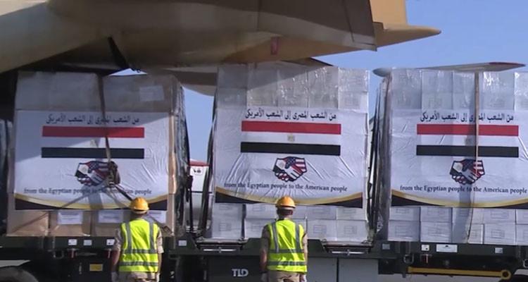 مصر ترسل مساعدات طبية إلى الولايات المتحدة - الاسبوع العربي احداث ...