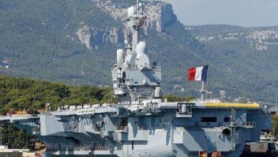 Photo of حاملة الطائرات شارل ديغول تقرّب عودتها الى فرنسا للاشتباه باصابات بكوفيد-19 على متنها