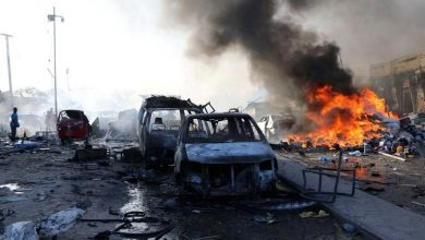 Photo of أفغانسان: 5 قتلى و32 جريحاً على الاقل إثر تفجير سيارة مفخخة بعد يوم واحد من الاتفاق على تقاسم السلطة