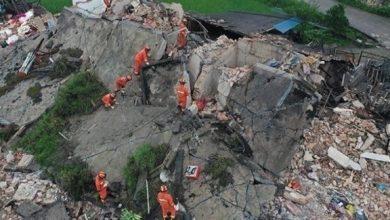 Photo of أربعة قتلى بزلزال في جنوب غرب الصين