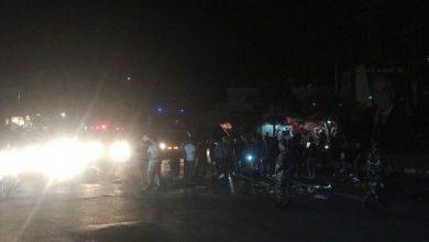 Photo of اعتصام في النبطية ليلاً احتجاجاً على التقنين في التيار الكهربائي
