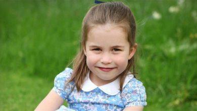 Photo of الأميرة البريطانية شارلوت تحتفل بعيد ميلادها الخامس