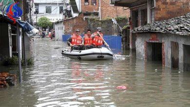Photo of مصرع عشرين شخصاً على الأقل في فيضانات في الصين