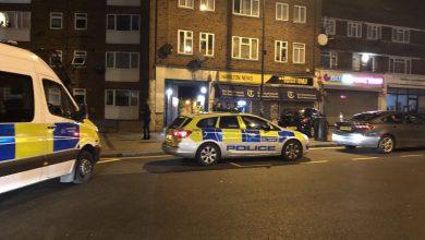 Photo of إصابة 4 أشخاص بالرصاص في شمال لندن