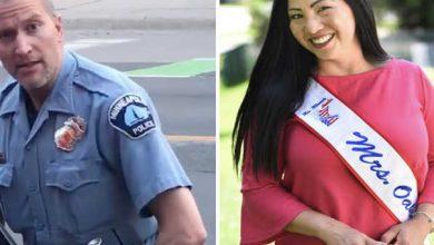 Photo of زوجة الشرطي الأميركي المتهم بقتل فلويد تطلب الطلاق وتتعاطف مع عائلة الضحية