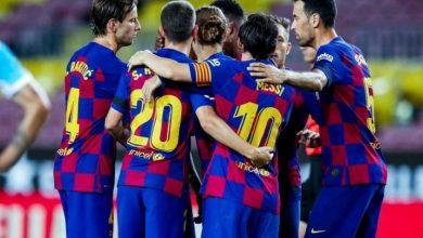 Photo of بطولة اسبانيا: برشلونة يبتعد خمس نقاط موقتا في الصدارة