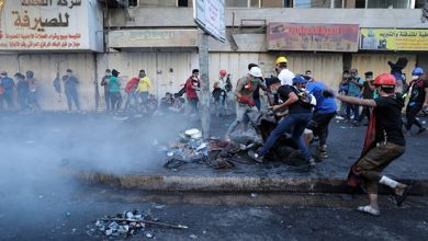 Photo of مقتل متظاهرين اثنين بعد مواجهات مع الشرطة في بغداد