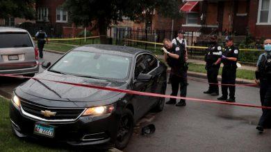 Photo of سقوط 14 جريحاً في تبادل لإطلاق النار في شيكاغو وترامب يهدد