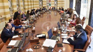 Photo of مجلس الوزراء ملتئم برئاسة عون ويبحث في جدول اعمال من 29 بنداً