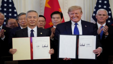 Photo of ترامب ليس مهتماً بالتحدث مع الصين بشأن إتفاق المرحلة 2 للتجارة