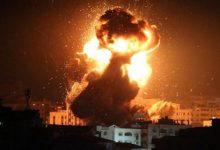 Photo of غارات إسرائيلية على غزة ردّاً على قصف صاروخي من القطاع